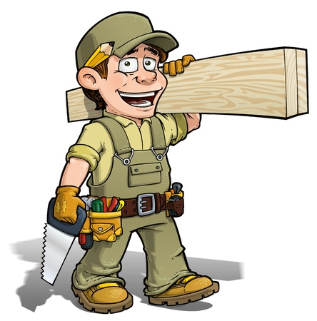 Handyman - Carpenter Khaki photo