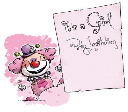 Cartoon Artistic illustration of a Clown Stock Vector - 21717346