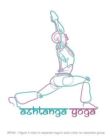 brand activity: mockup for a Yoga related business. Easy to change the colors - all elements neatly on layers and Groups. Font used: Ananda Namaste. Fonts are for preview purposes only and are not included. Illustration