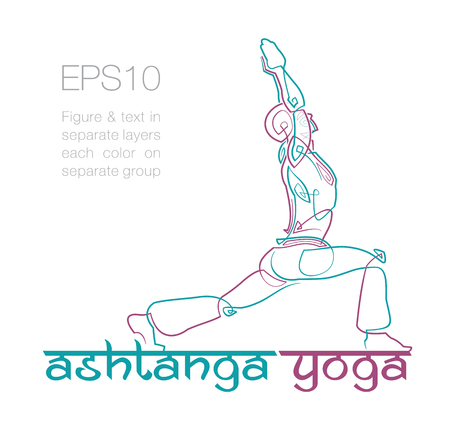 brand position: mockup for a Yoga related business. Easy to change the colors - all elements neatly on layers and Groups. Font used: Ananda Namaste. Fonts are for preview purposes only and are not included. Illustration