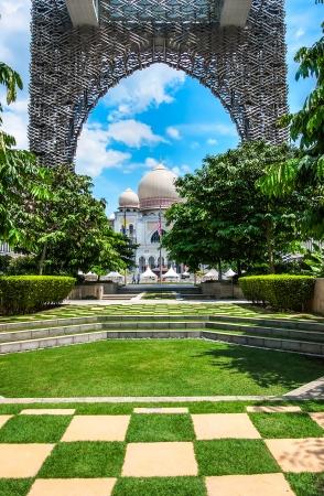 Palace of Justice at Putrajaya in Malaysia
