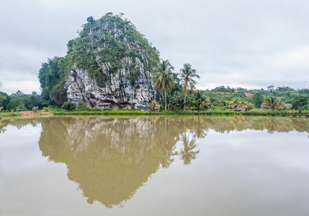 Cave beside the lake in Gua Musang, Kelantan
