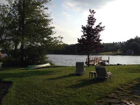 Country home in the Catskills Фото со стока