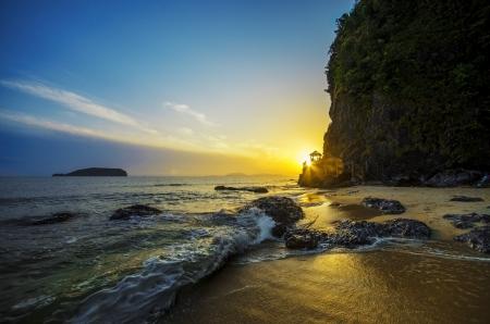 terengganu: Golden Sunrise at Bukit Keluang Beach, Besut, Terengganu