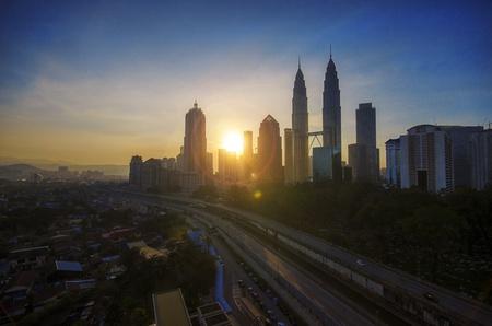 Sunrise in Kuala Lumpur part II