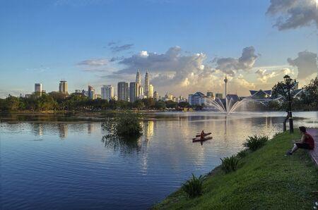 klcc: Titiwangsa Lake, Kuala Lumpur