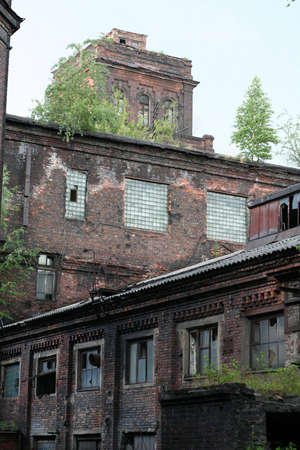 old factory Stock Photo - 2528590