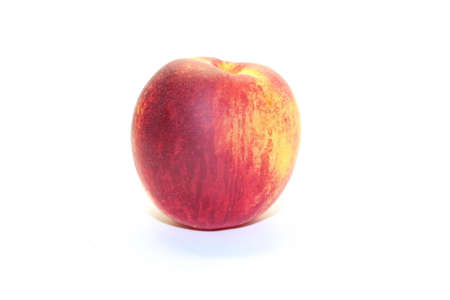 peach on white background Stock Photo