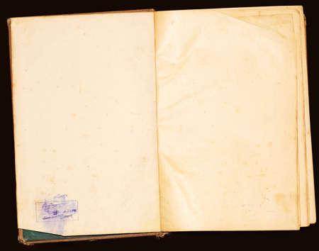 vieux papier texture sur fond noir