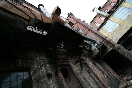 old factory Stock Photo - 2537108