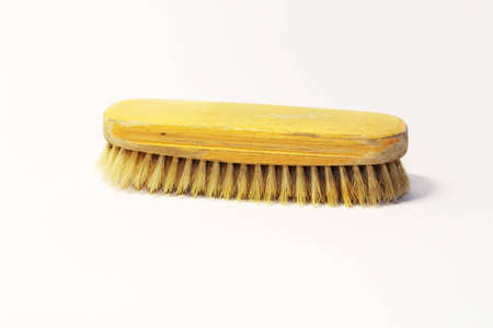 shoe-brush Stock Photo