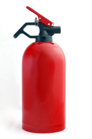 Small red fire extinguisher, suitable for your home or car photo