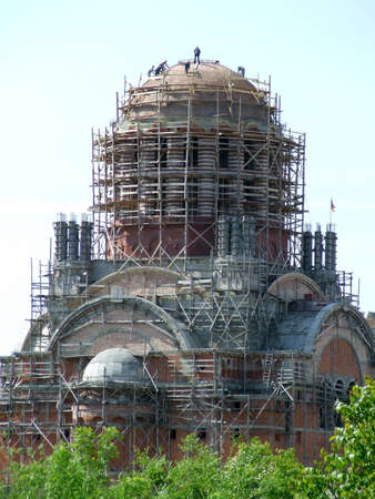 orthodox cathedral construction
