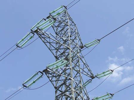 Elektro-Pylon Lizenzfreie Bilder