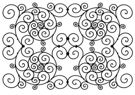 spiral decor