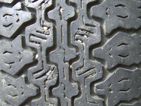 alten Reifen Textur Lizenzfreie Bilder