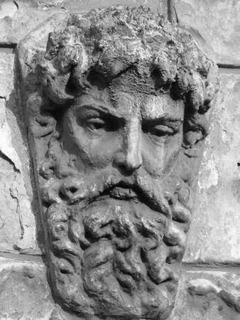 ornamental man head