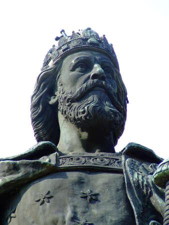 St.Laszlo King of Hungary Stock Photo