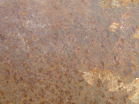 degenerated: rusty plate