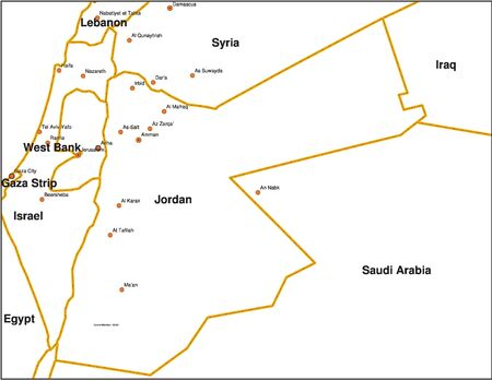 middle east war: Jordan