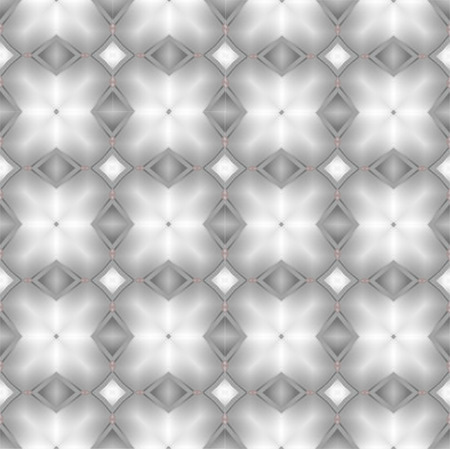 Kaleidoscope Silver seamless pattern for Your Desing. photo