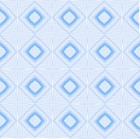 Kaleidoscope Blue seamless pattern for Your Desing. photo
