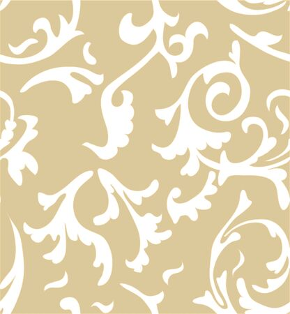 damask seamless pattern background. Elegant luxury texture for wallpapers, backgrounds and page fill photo