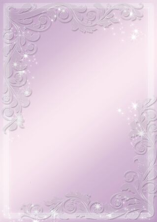astral: Modern purple banners - astral and flower theme. Vector background.
