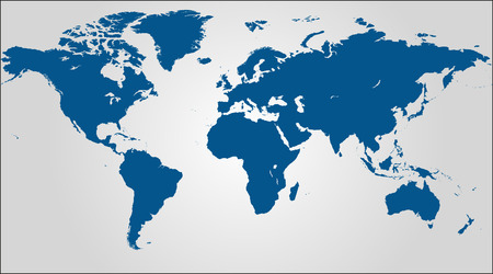Image of a world map with a grey background
