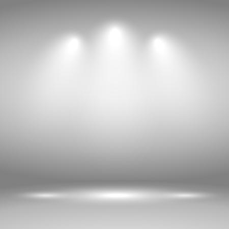 night club interior: Spotlights. Scene. Light Effects illustration
