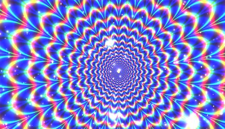 expansion: Blue optical expansion illusion for Your desing