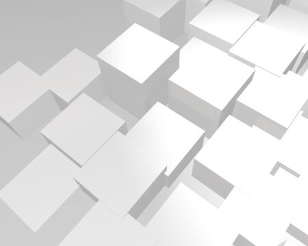 abstract background with white rhombus Imagens