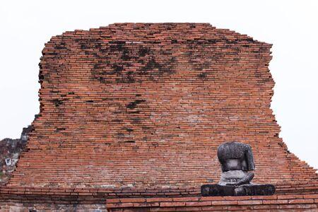 Buddha Ayuthaya Stock Photo