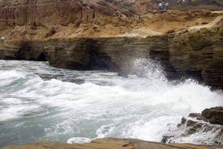 Caves & Surf Фото со стока