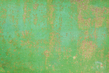 vintage rusty metal green background horizontal photo