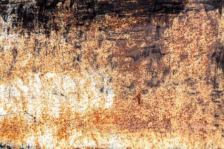 rusty vintage dark metallic iron horizontal background photo