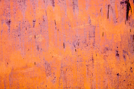 old rusty vintage pink yellow iron metal horizontal background photo