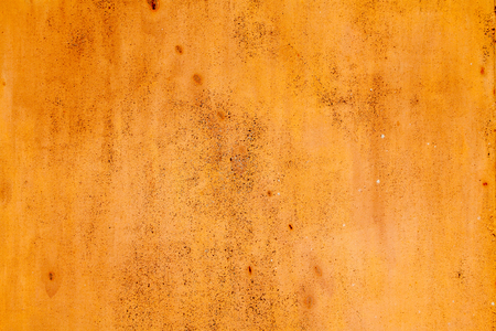 old rusty vintage yellow iron metal horizontal background photo