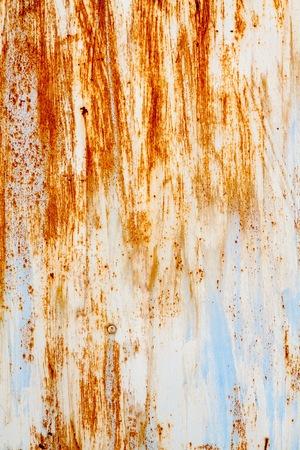 rust metal: old rusty vintage metallic  brown blue vertical background