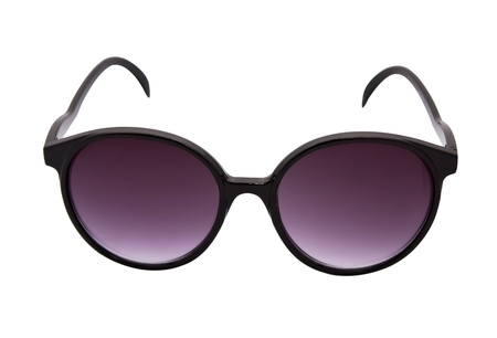 sunglassess: Purple sunglassess isolated on white