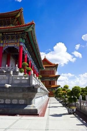 Chinese Buddhist temple in Bangkok