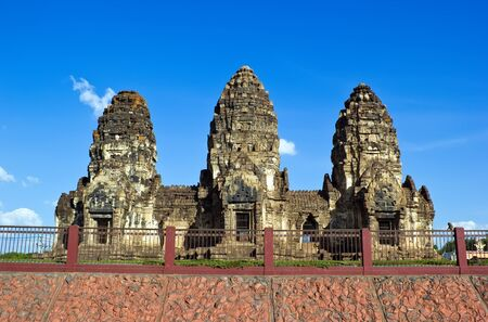 Phra Prang Sam Yot in Lop Buri