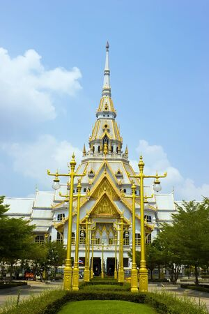 Sothonwararam temple, a temple in Chachoengsao Province, Thailand