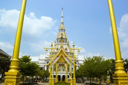 chachoengsao: Sothonwararam temple, a temple in Chachoengsao , Thailand Stock Photo