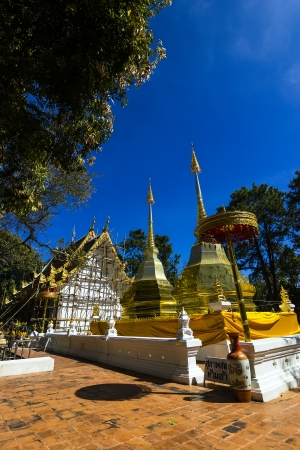 chiangrai: Wat  Phrathat Doi Tung Temple in Chiangrai