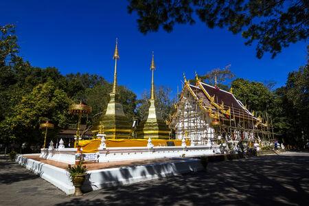 chiangrai: Phrathat Doi Tung Temple in Chiangrai, Thailand