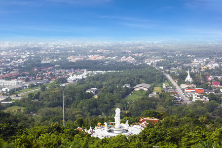 City scenery from Hat Yai public park view