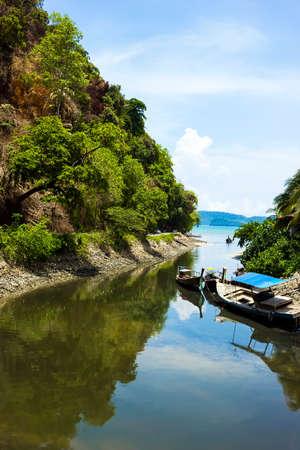 View of Ao Nang in Krabi