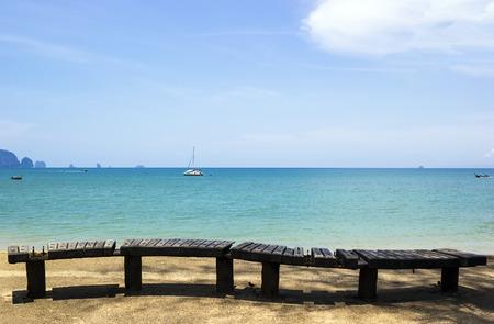 Ao Nang beach in Krabi, south of Thailand Stock Photo