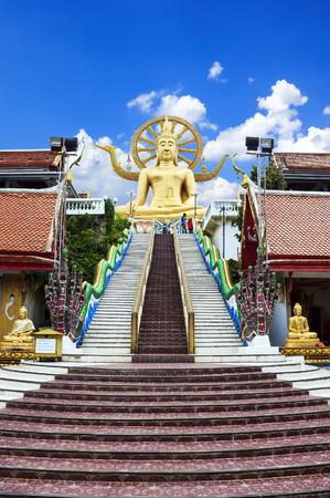 koh samui: Wat Phra Yai in Koh Samui island